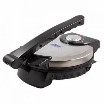 Anex AG 3062 Deluxe Roti Maker Black and Silver